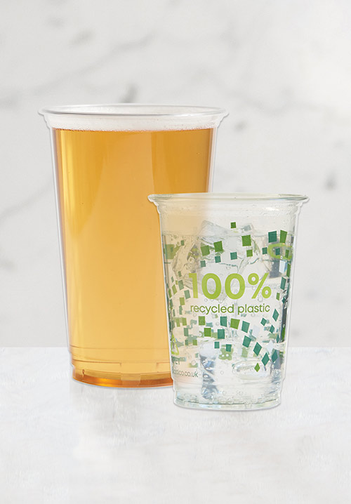 Recyclable Glassware